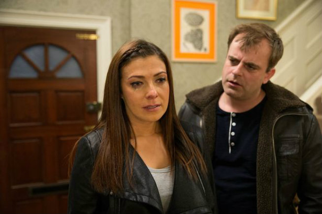 Coronation Street couple dealing with depression in their relationship